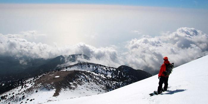 ski de rando en Crète !