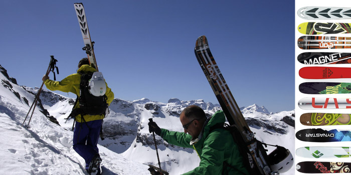 [TEST] 11 paires de skis de rando larges