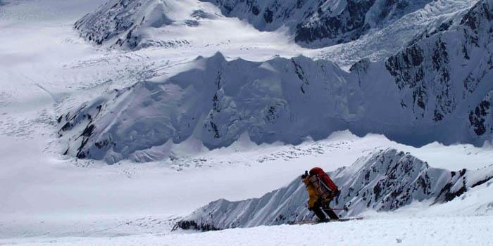 Ski de randonnée au Dénali