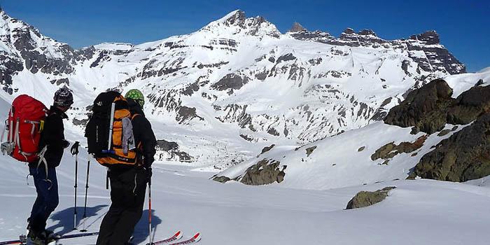 Raid à skis autour des Dents du Midi