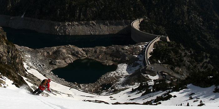 Ski de randonnée au Néouvielle : Sur la route des lacs