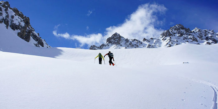 Ski de rando dans le val Maira