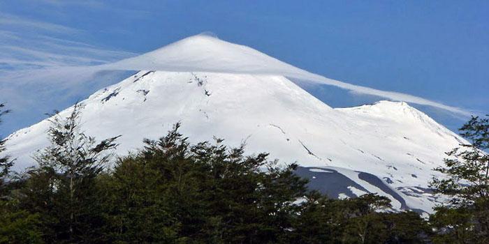 Les volcans du sud Chili