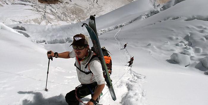 Portfolio: le Manaslu à ski
