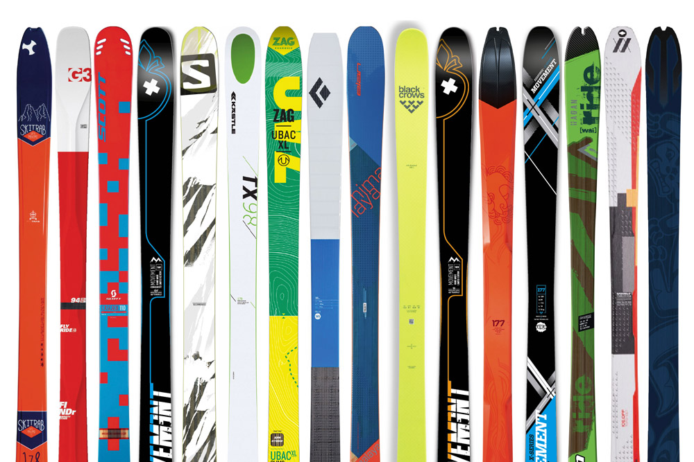 Test skis de randonnée 2017 : tests ski de rando