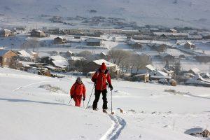 ski de randonnée en géorgie