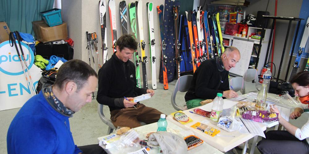 Test skis de rando 2017