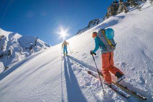 ski de randonnée dans les Hautes Alpes