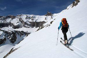 ski de randonnée dans les Hautes Pyrénées