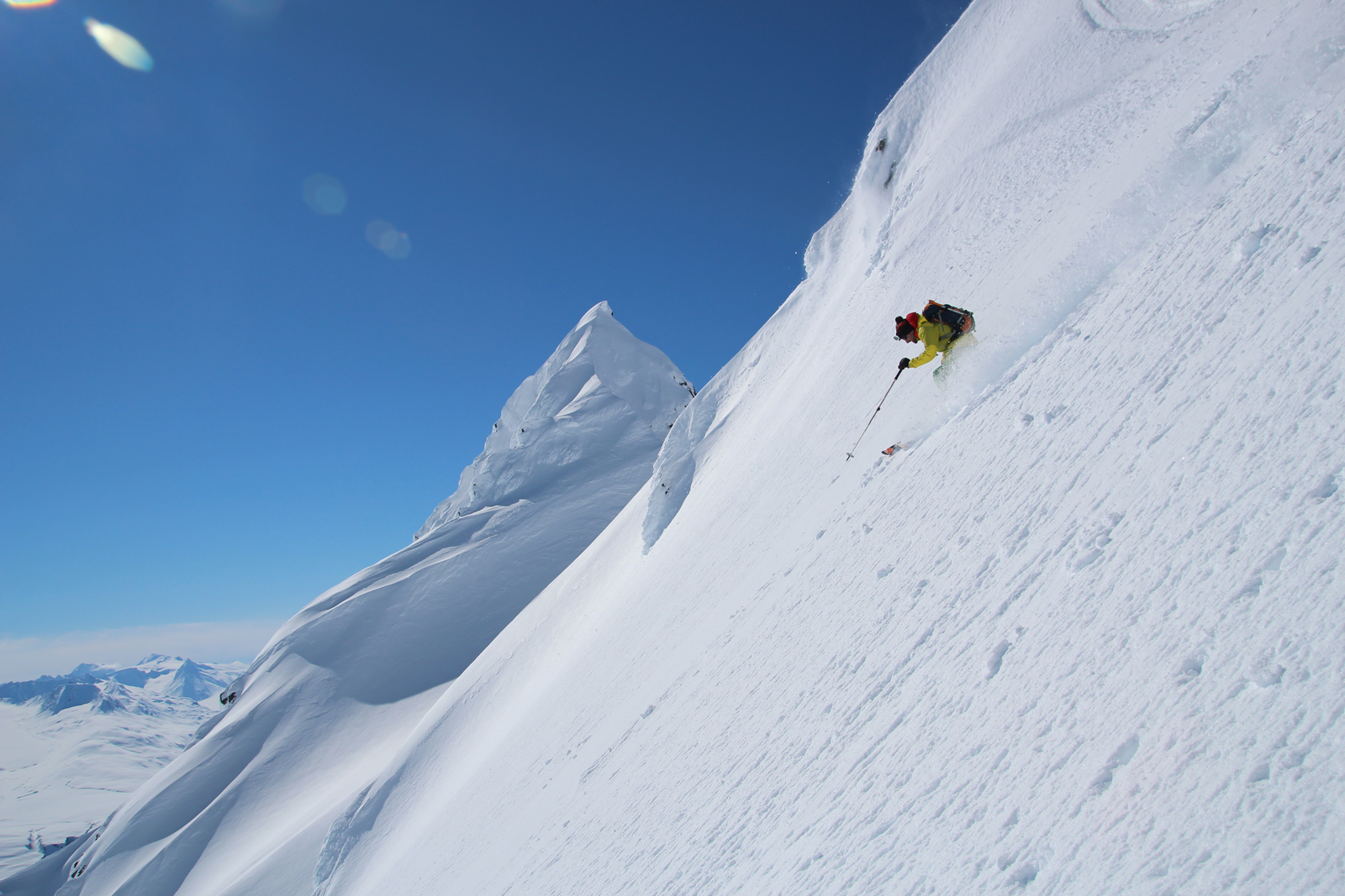 Valdez : ski rando en Alaska sans Hélico !