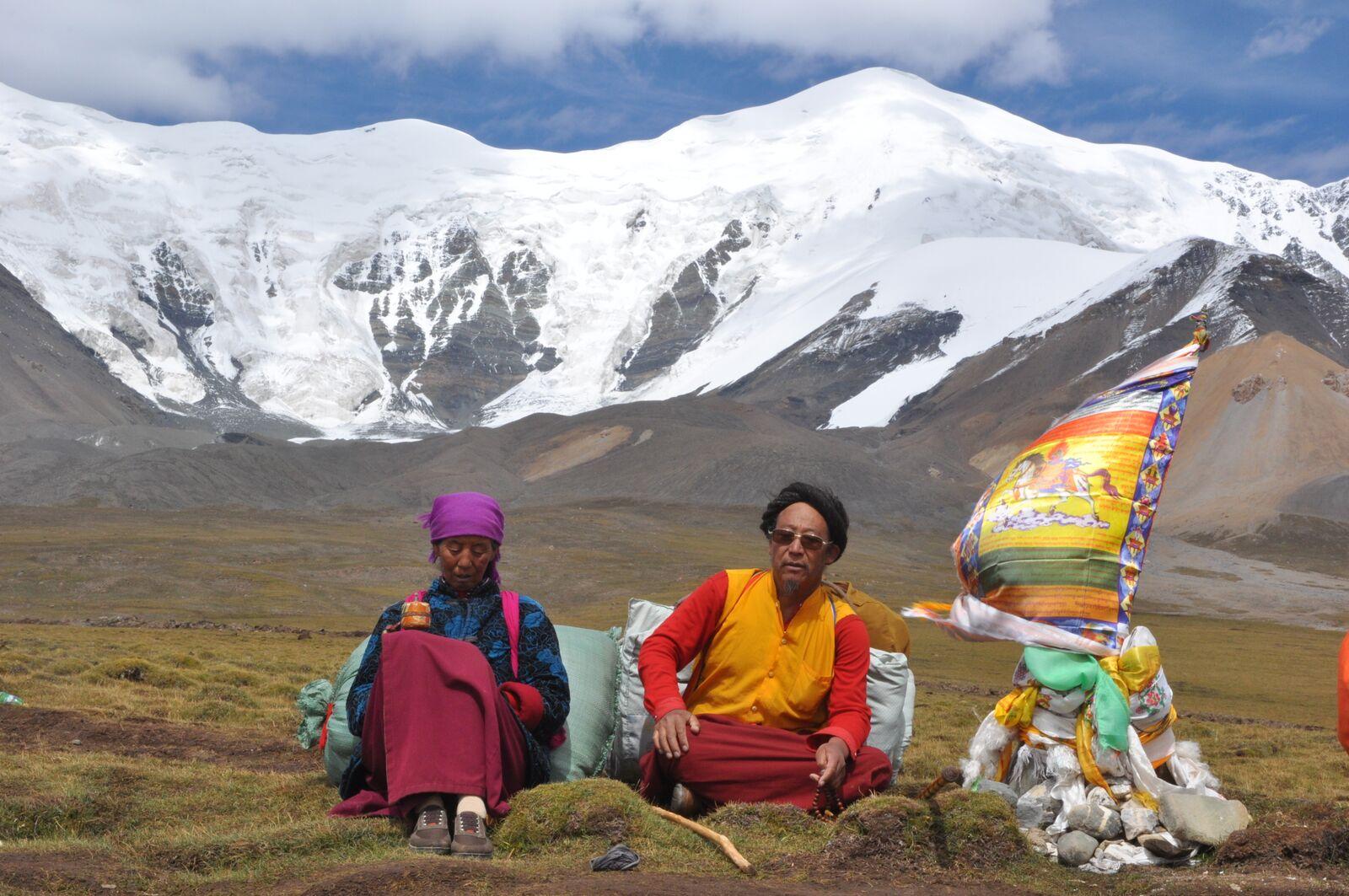 Ski de rando au Tibet, expé au Yuhzu Feng