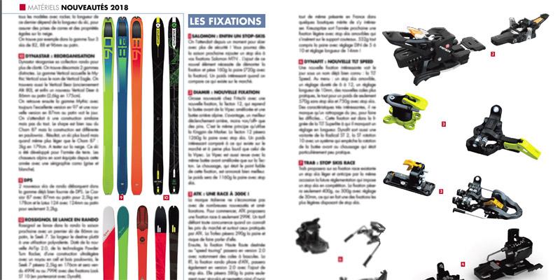Le matériel ski de rando & splitboard 2018
