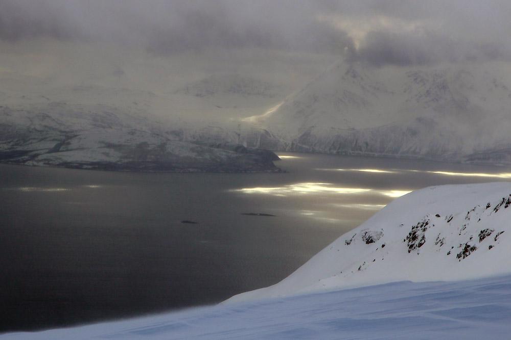 Le fjord depuis le sommet