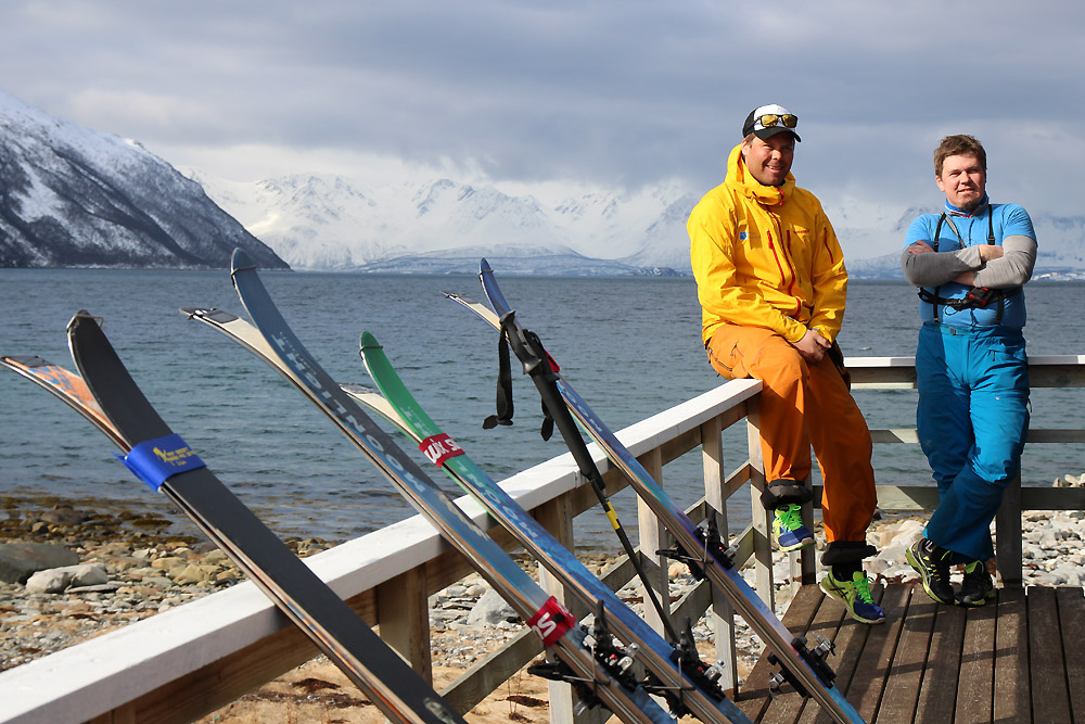 (trip Norvège) Test skis Moonlight