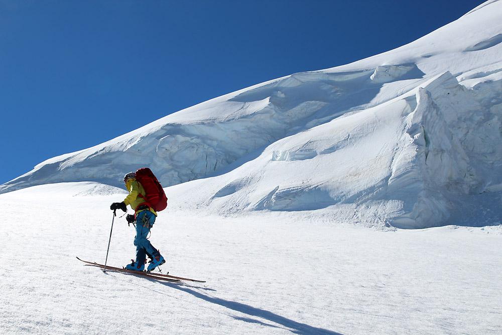 Fin de saison dans le massif du Mont Rose