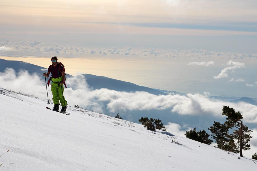 Ski de randonnée en Sierra Nevada