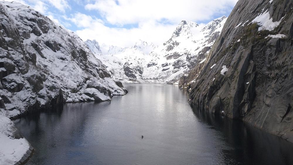 Ski et kayak dans les Lofoten