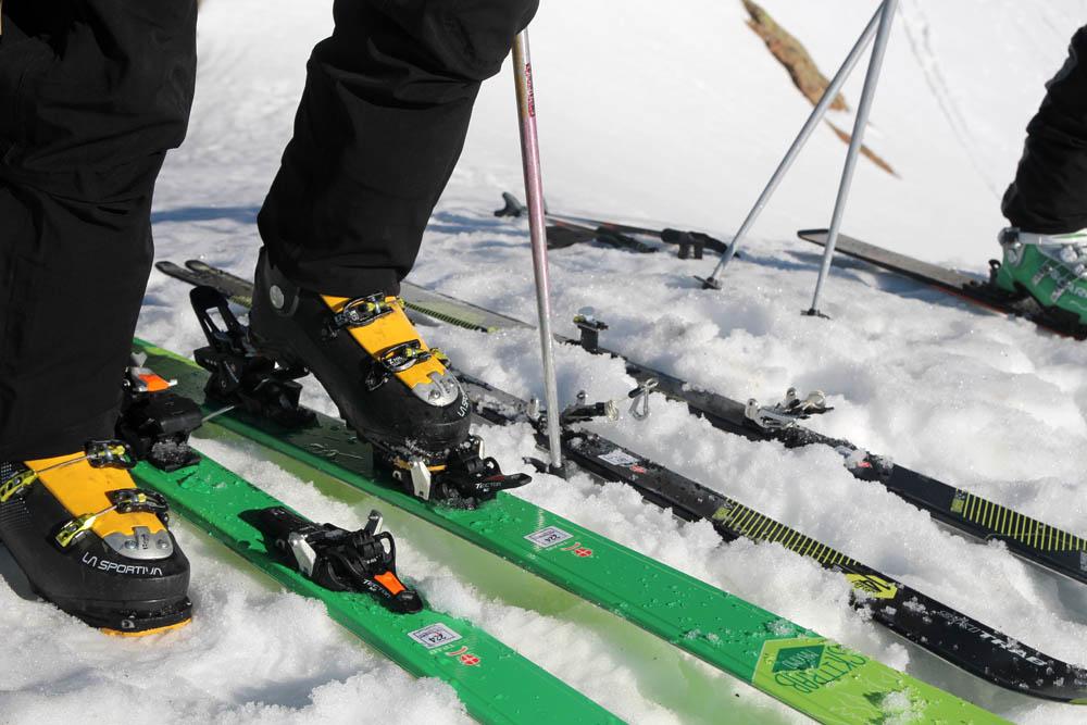Test fixations ski rando & splitboard 2018
