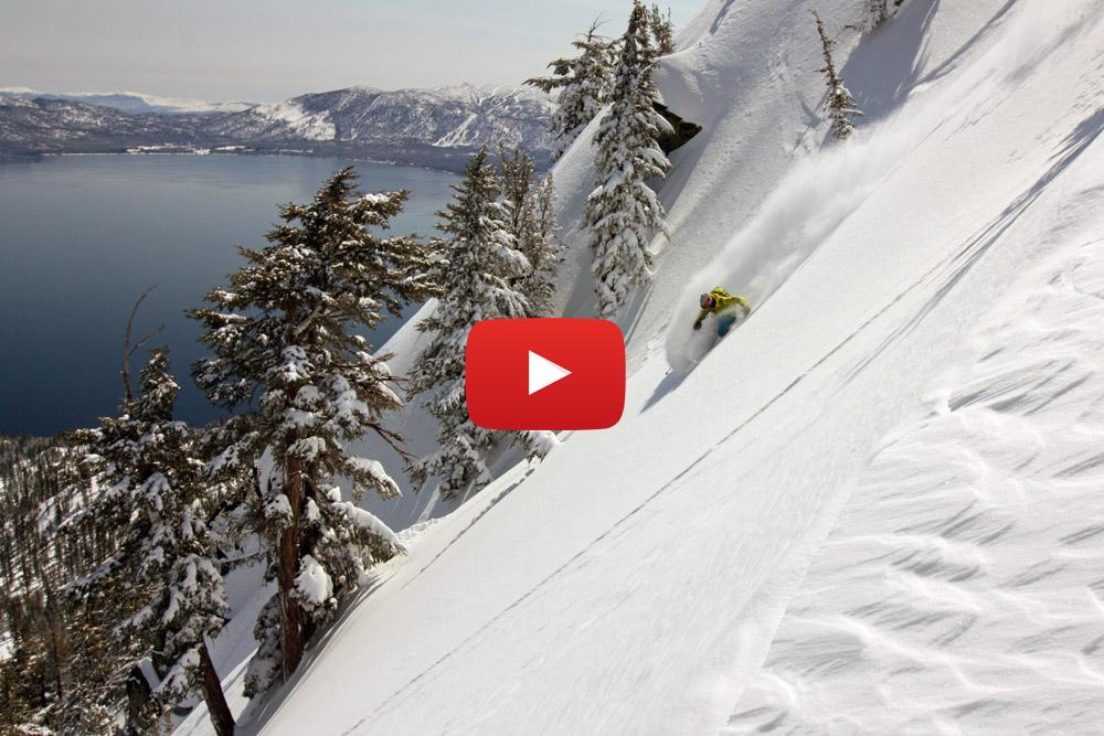 Ski de rando en Californie