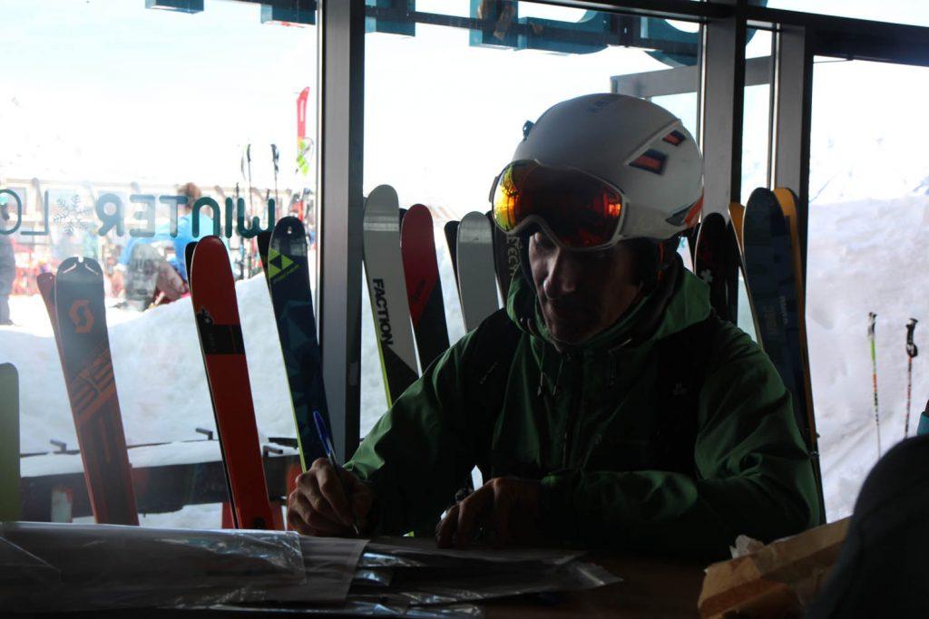 test ski randonnée Atomic Backland 95