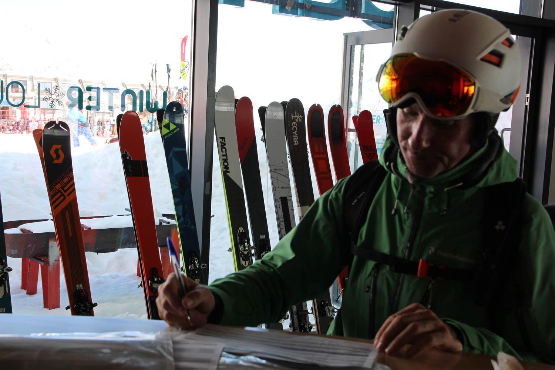 Test skis de randonnée