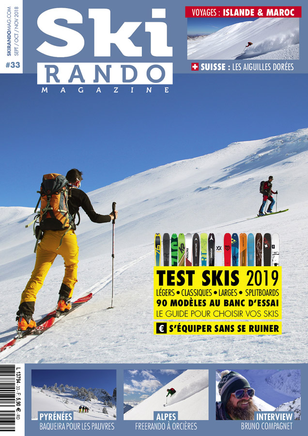 ski rando magazine n 33 ski rando magazine. Black Bedroom Furniture Sets. Home Design Ideas