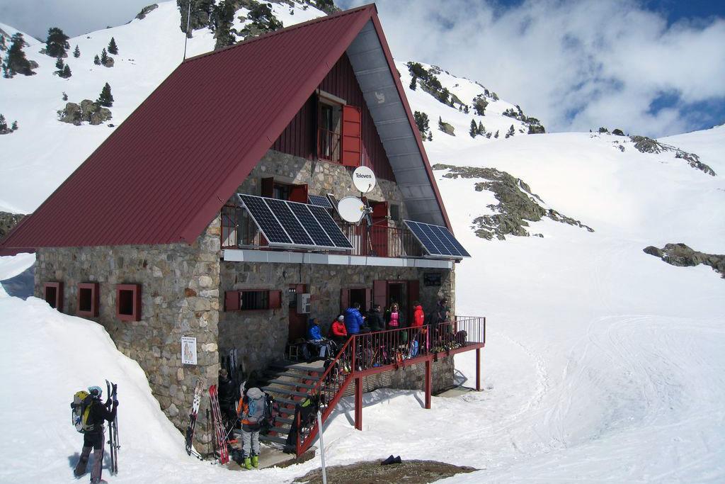 Raid à skis dans les Pyrénées : Cauterets - Somport