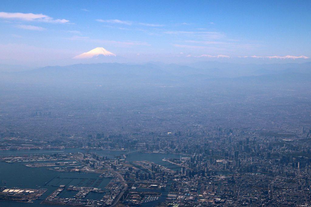 Tokyo et le Fuji, grandiose !