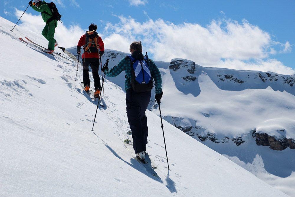 test en randonnée des skis de rando 2017