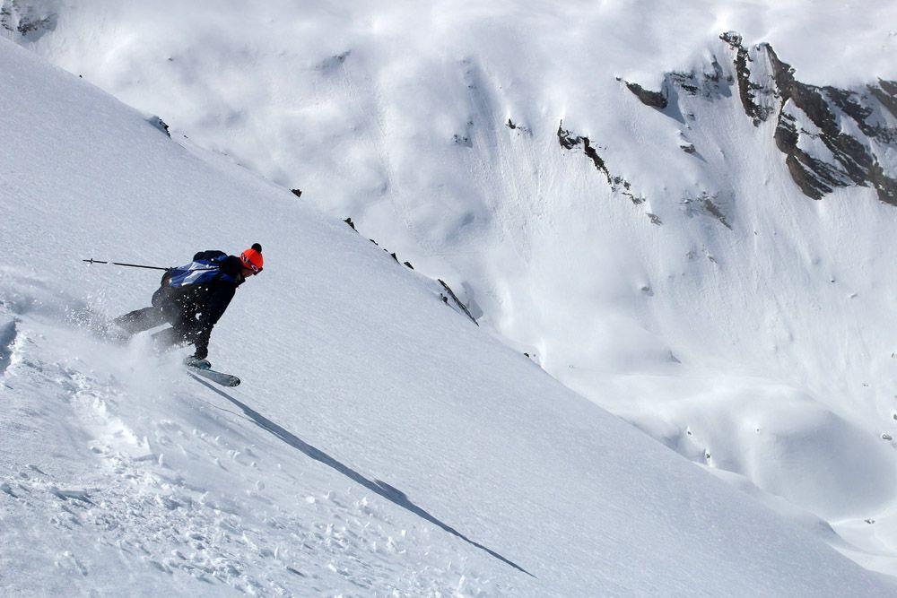 test skis de randonnée 2017, descente