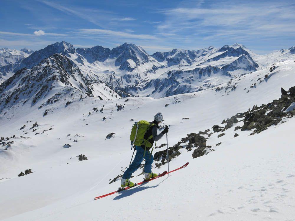 test en randonnée des skis de rando 2018