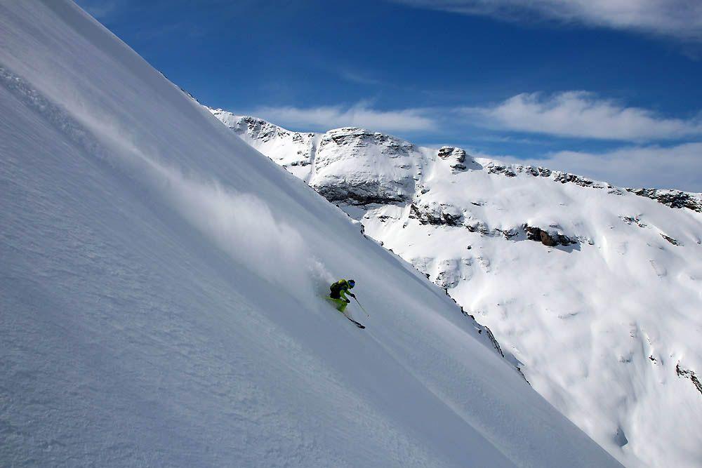 test ski de rando 2018 descente