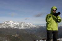 Vue sur les Picos de Europa depuis la Pena Gustal