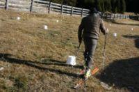Un peu de ski de rando sur l'herbe pour tester la Natural Walking plate