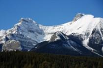 La face est du Mont Saint Peran à droite (photo : http://www.mountainsoftravelphotos.com/)