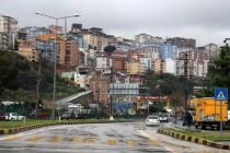 La ville de Trabzon et ses nombreux immeubles