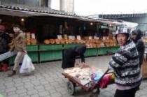 Le marché de Bishkek