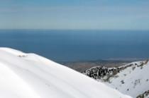 Chania depuis les White Mountains
