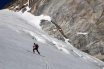 Les crevasses du glacier d'Ossoue