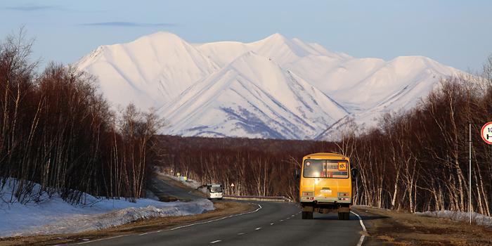 ski de randonnée au Kamtchatka
