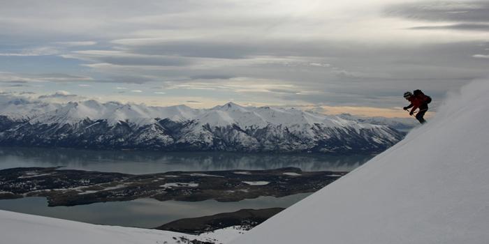 Ski de randonnée en Patagonie, le parc national Los Glaciares