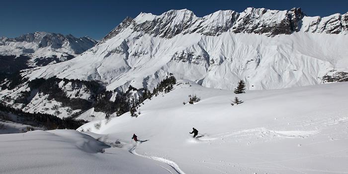 Alpes du nord : à l'affût du moment propice