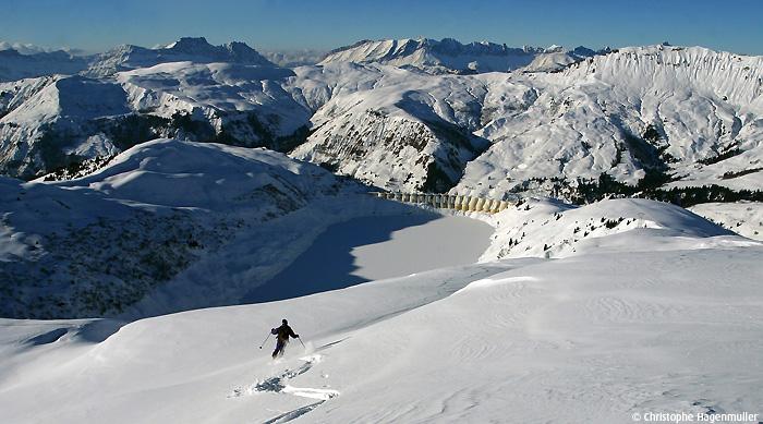 Portfolio lacs & ski de rando