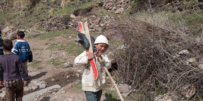 Maroc : le Toubkal en ski de randonnée