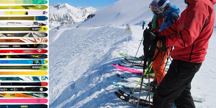 TEST skis de rando 2016 : classiques, larges et très larges