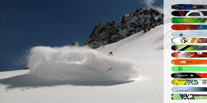 TEST : 14 skis de rando pour la grosse poudre