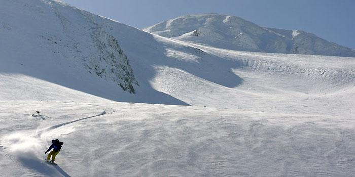 ski de randonnée au pic d'Orhy