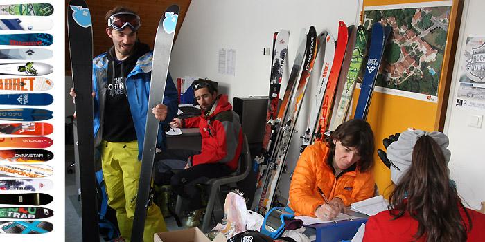 Les nouveautés ski rando & splitboard 2014