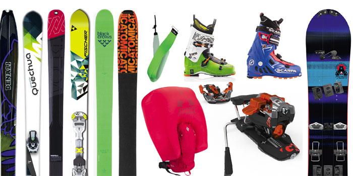 Le matos ski rando & splitboard 2015