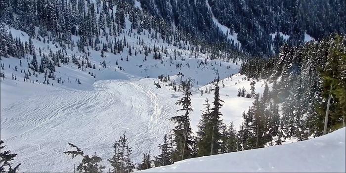 Témoignage: avalanche de Cherry Bowl au Canada